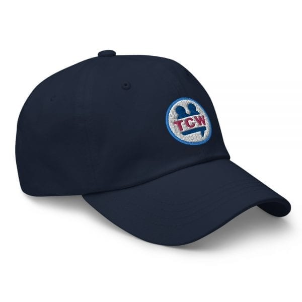 classic dad hat navy right front 60956e6e7bceb