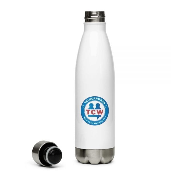 stainless steel water bottle white 17oz front 6092c1b711dc8